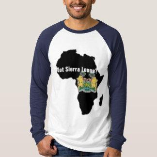 Camiseta de la bandera del Sierra Leone (África) y Remera