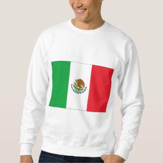 Camiseta de la bandera mexicana de la camiseta de sudadera