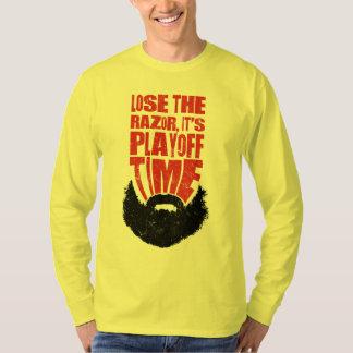 Camiseta de la barba del Juego-Apagado del béisbol