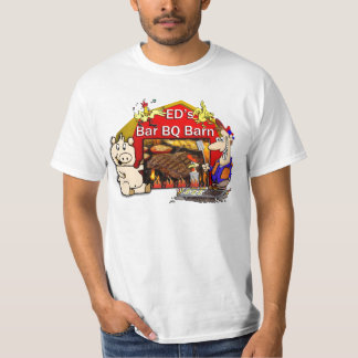 Camiseta de la barbacoa polera