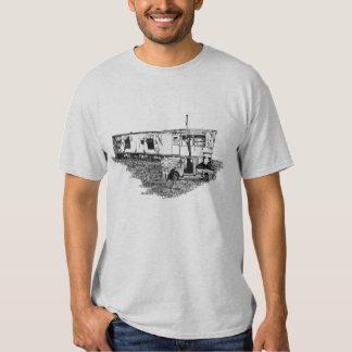 Camiseta de la basura del remolque remeras