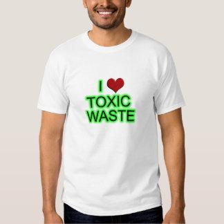 Camiseta de la basura tóxica remera