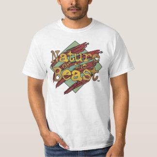 Camiseta de la bestia polera