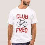 Camiseta de la bici de Fred del club