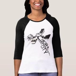 Camiseta de la bici de la arcón
