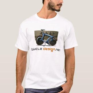 Camiseta de la bici de la pista del diseño de la