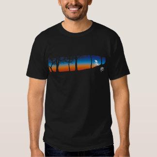 Camiseta de la bici de montaña polera