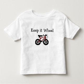 Camiseta de la bici del niño de la