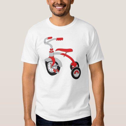 Camiseta de la bici del triciclo remera