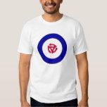 camiseta de la blanco de la MOD 45rpm Playera