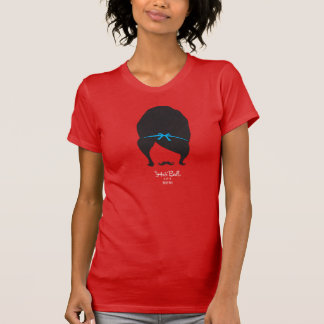 Camiseta de la bola de pelo playera