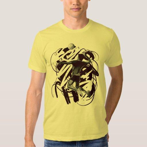 Camiseta de la bola del voleo camisas