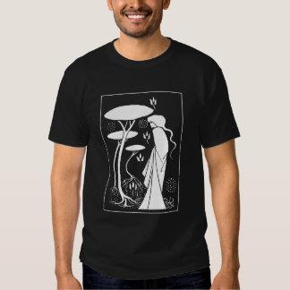 Camiseta de la bruja de Beardsley Playeras