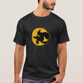 camiseta de la bruja de Halloween de los años 30