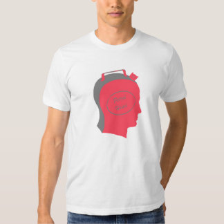 Camiseta de la cabeza de la gasolina del vintage remeras
