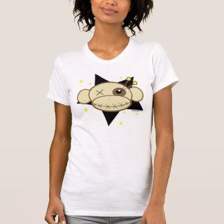 Camiseta de la cabeza del mono del vudú