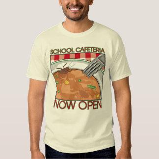 Camiseta de la cafetería de la escuela playeras