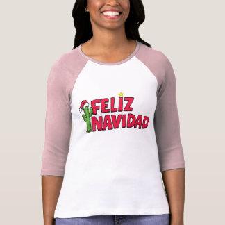 Camiseta de la camiseta de Feliz Navidad Playera