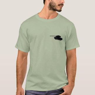 Camiseta de la camiseta del perfil de M26 Pershing