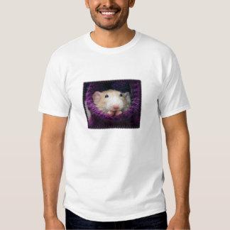 Camiseta de la cara del calcetín de Marty Poleras