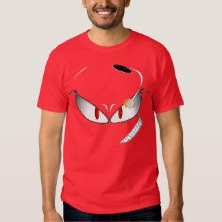 Camiseta de la cara del fantasma del nacido en el playera