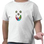 Camiseta de la cara del payaso de los niños
