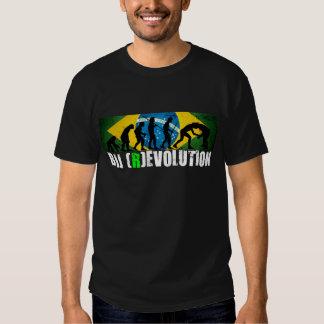 Camiseta de la carta de la evolución de BJJ Poleras