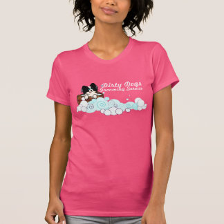 Camiseta de la cartelera del negocio poleras