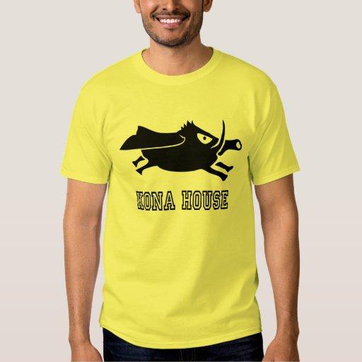 Camiseta de la casa de Kona Remera