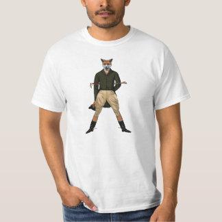 camiseta de la caza de zorro del vintage playeras