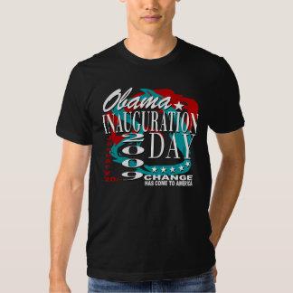 Camiseta de la celebración de la inauguración poleras