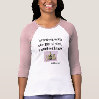 Camiseta de la cerveza y del amante del vino -