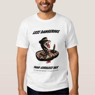 """Camiseta de la """"charla descuidada"""" remeras"""