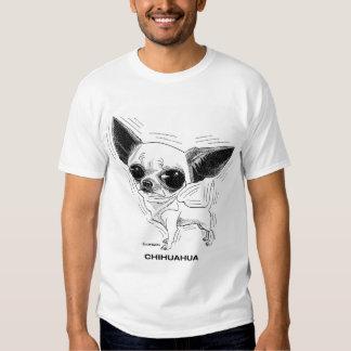 Camiseta de la chihuahua playera