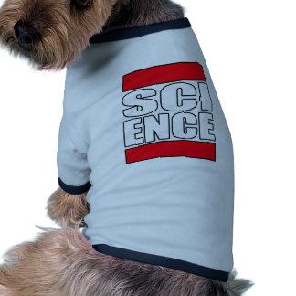 Camiseta de la ciencia camisa de perrito