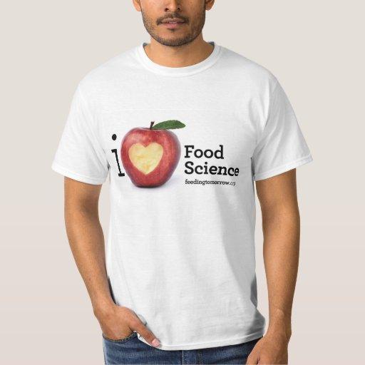 Camiseta de la ciencia de la alimentación del remera