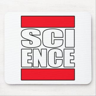 Camiseta de la ciencia alfombrillas de raton