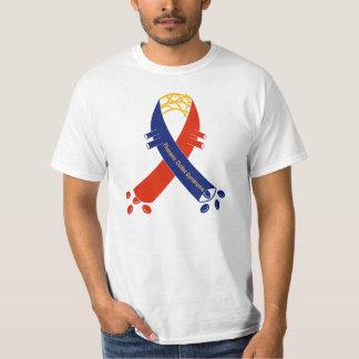 Camiseta de la cinta de la ayuda de la TOS
