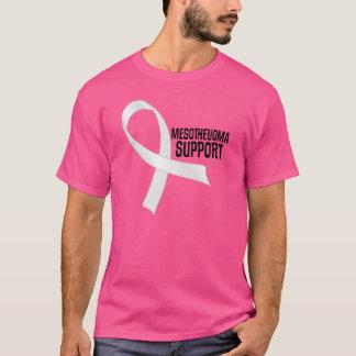Camiseta de la cinta de la perla del mesotelioma
