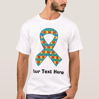 Camiseta de la cinta del pedazo del rompecabezas