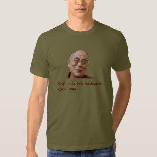 Camiseta de la cita de Dalai Lama Playeras