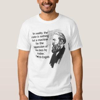 Camiseta de la cita de Friedrich Engels Camisas
