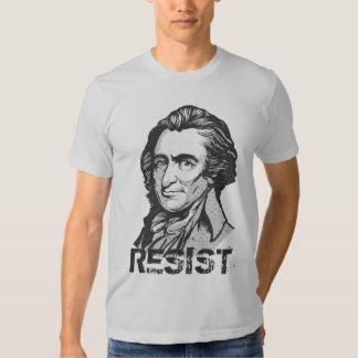 Camiseta de la cita de la resistencia de Thomas Remera