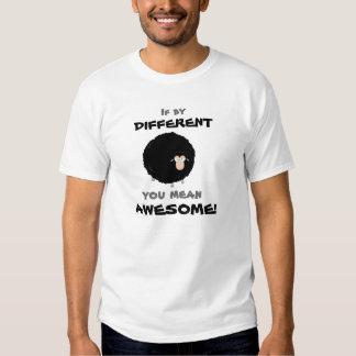 Camiseta de la cita de las ovejas negras del playeras