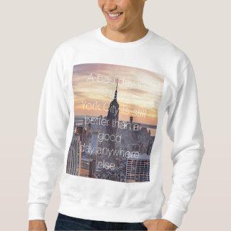 Camiseta de la cita de New York City Sudaderas Encapuchadas