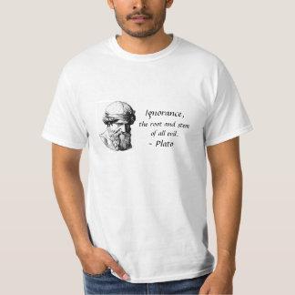 Camiseta de la cita de Platón Remera