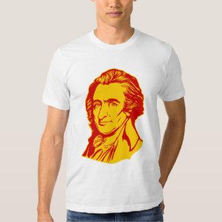 Camiseta de la cita de Thomas Paine Poleras