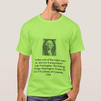 Camiseta de la cita del cáñamo de George
