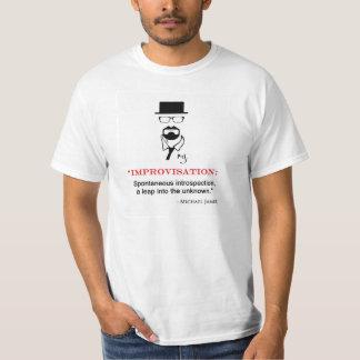 Camiseta de la cita del MJ Improv