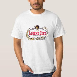 Camiseta de la ciudad de la leyenda playeras